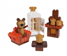 PlayBIG Bloxx Masha and the Bear - Bear's Room
