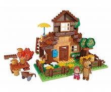 PlayBIG Bloxx Masha and the Bear - Bear's House