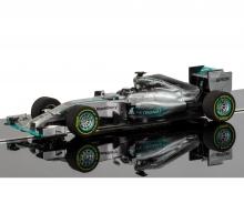 1:32 Mercedes F1 W106 2015 HD, DPR