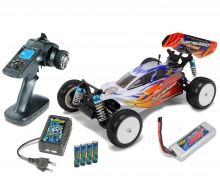 CARSON Dirt Warrior BL Water Pro 2,4 GHz 100% RTR