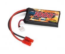 Akku EC/Hughes 7,4V/1000 mAh LiPo