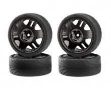 1:10 Big Wheel Set Drift Tires 4 St.