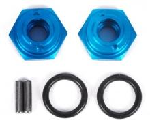 12mm Alu Radmitnehmer Blau Offset +1mm