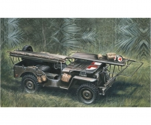 1:35 1/4 Ton 4x4 Krankenwagen Jeep