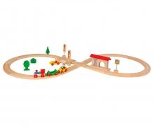 Eichhorn Train, Circle 8, 35 pcs.
