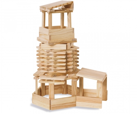 Eichhorn Wooden Construction Kit 200 pcs.
