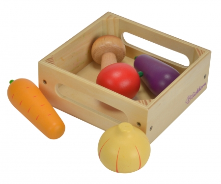 EH Wooden Box with  Vegetables