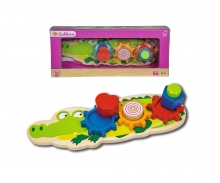 EH Shaped Puzzle, Crocodile