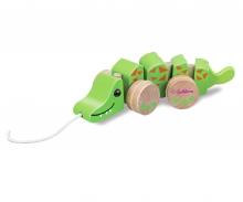 Eichhorn Pull-along Animal, Crocodile