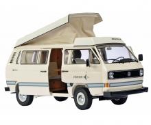 "VW T3 ""Joker"" Campingbus mit Faltdach, creme 1:18"