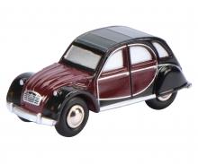 Piccolo Citroën 2 CV Charleston, schwarz-bordeaux