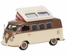 VW T1c Campingbus, braun-beige 1:43