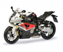 BMW S 1000 RR, racing red/alpin white, 1:10