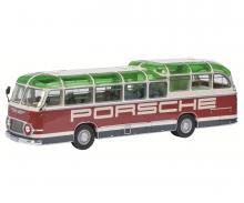 """Neoplan """"Porsche Renndienst"""" Bus, 1:43"""