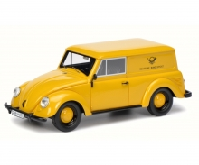 """VW Kleinwagen """"Deutsche Bundespost"""", gelb 1:43"""