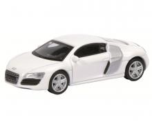 Audi R8 Coupé, weiß, 1:64