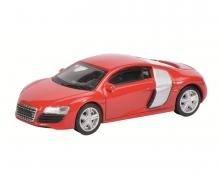Audi R8 Coupé, rot, 1:64