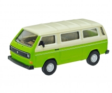 VW T3 Bus, grün 1:64