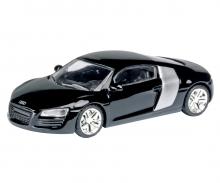 Audi R8, schwarz, 1:87