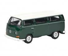 VW T2 Bus, grün/weiß 1:87