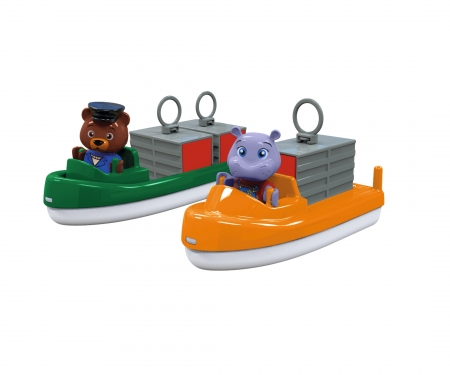 aquaplay AquaPlay Carrier- + TransportBoat + 2 Puppets