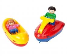big BIG-Waterplay Fun-Boat-Set
