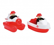 big BIG-Waterplay Fire-Boat-Set