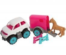 big BIG Power Worker Mini Ponytransporter Set