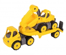 big BIG-Power-Worker Mini Transporter + Digger