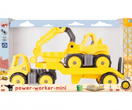 big BIG-Power-Worker Mini Transporter