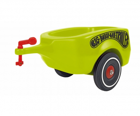 big BIG-BOBBY-CAR-TRAILER GREEN
