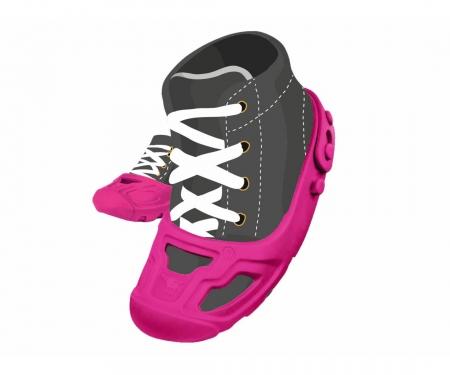 big BIG Shoe Care pink