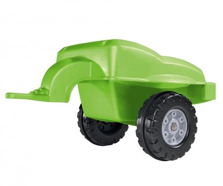 big BIG-Trailer grün