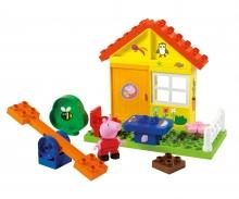 big BIG-Bloxx Peppa Pig Garden House