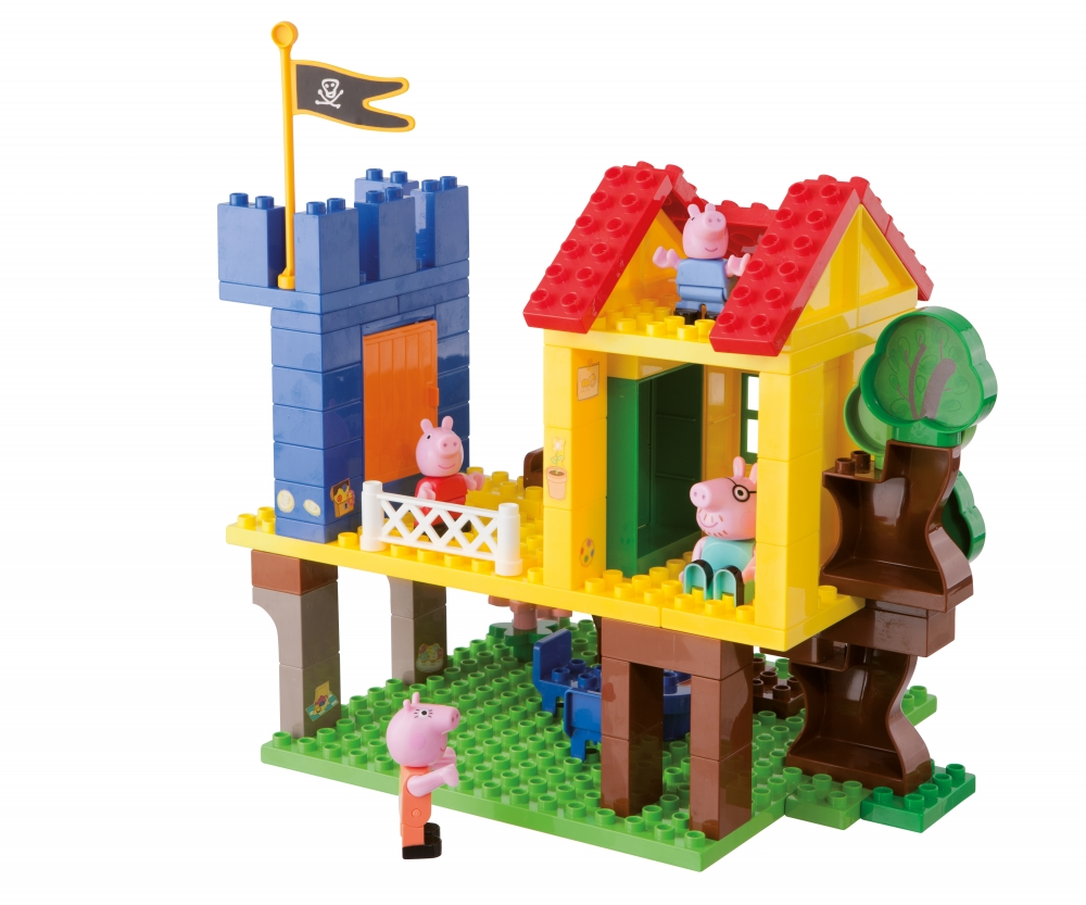 PlayBIG Bloxx Peppa Pig Treehouse  Toy  Baby  Toddler