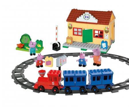 big PlayBIG Bloxx Peppa Pig Train Station