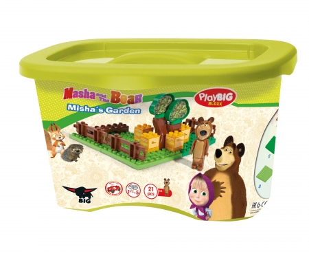 big PlayBIG BLOXX Masha and the Bear - Bear's Garden