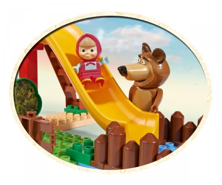 big PlayBIG Bloxx Masha and the Bear - Pool Fun