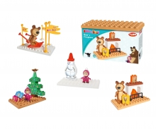 big PlayBIG Bloxx Masha and the Bear - Basic Sets