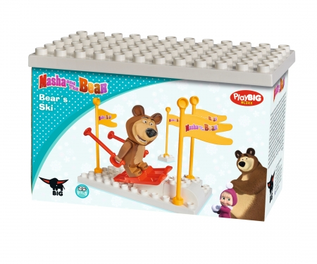 big PlayBIG Bloxx Masha and the Bear - Basic Sets