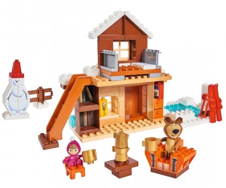big PlayBIG Bloxx Masha and the Bear - Bear's Winter House