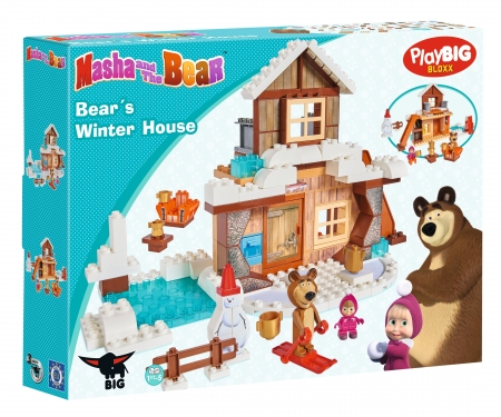 big PlayBIG Bloxx Masha and the Bear - Bear's Winter House