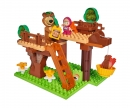 big PlayBIG Bloxx Masha and the Bear Tree Hideout