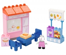 big PlayBIG Bloxx Peppa Pig Cake Shop