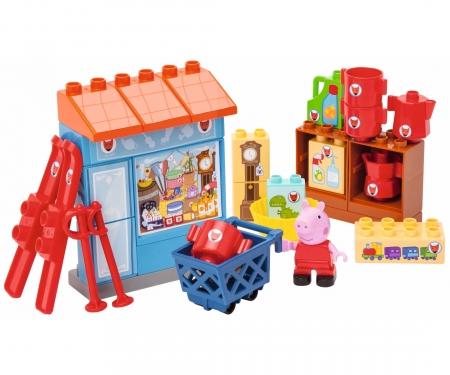 big PlayBIG Bloxx Peppa Pig Mr Fox's Shop