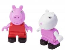 big BIG-Bloxx Peppa Pig Peppa + Suzy