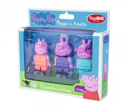 big PlayBIG Bloxx Peppa Pig Parents