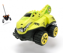 DICKIE Toys RC Dino Basher Crocodile, RTR