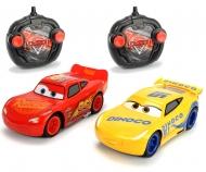 DICKIE Toys RC Cars 3 Twin Pack LMQ + CRUZ 1:24