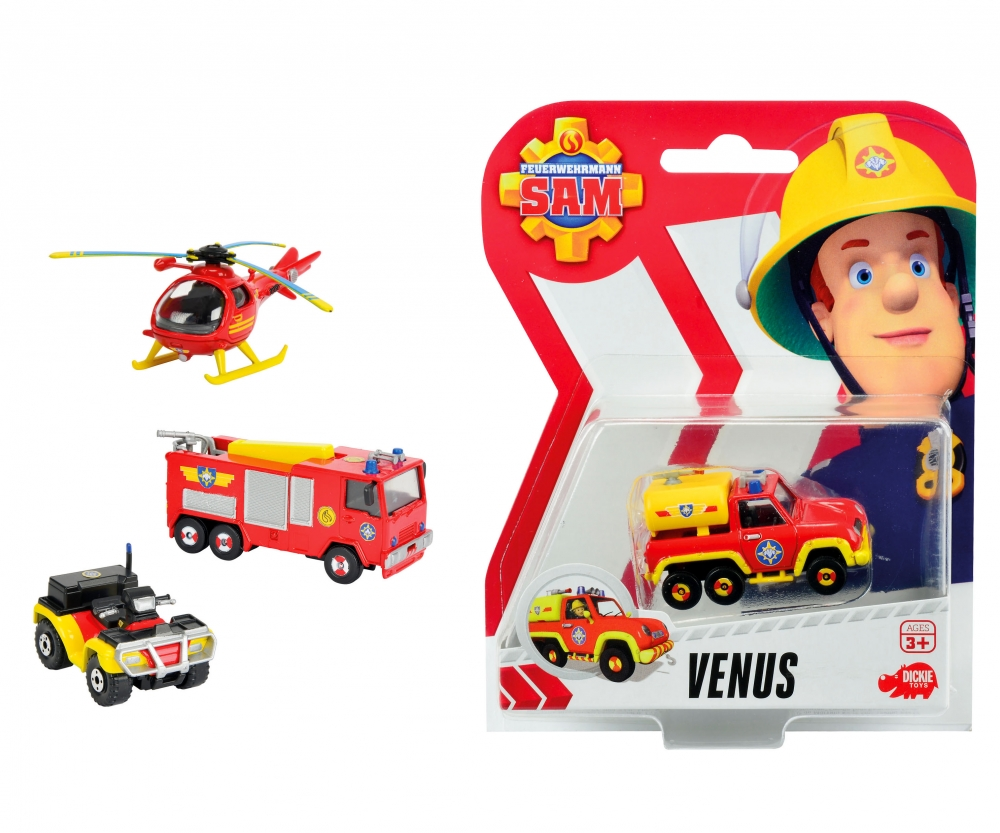 Sam Toys r us Dickie Toys Fireman Sam Single